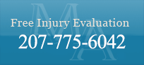 Free Injury Evaluation: 1-207-775-6042